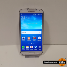 Samsung Galaxy S4 16GB Wit in Goede Staat