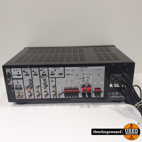 Onkyo TX-SR444 7.1 Receiver / Versterker in Nette Staat