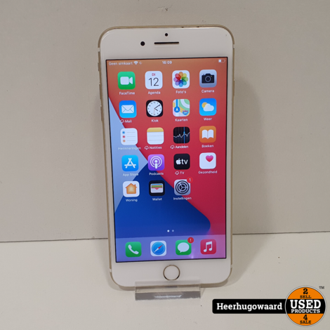 iPhone 7 Plus 32GB Gold in Goede Staat - Accu 91%