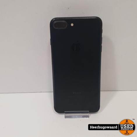 iPhone 7 Plus 32GB Jet Black in Nette Staat - Accu 100%