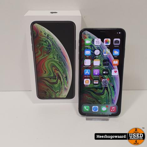 iPhone XS Max 256GB Space Gray in Zeer Nette Staat - Accu 93%