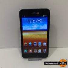 Samsung Galaxy Note 1 16GB Zwart in Goede Staat