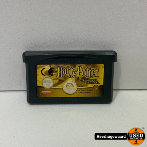 Gameboy Advance Game: Harry Potter and the Chamber of Secrets