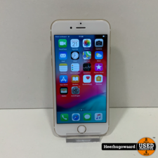 iPhone 6 16GB Gold in Goede Staat - Accu 87%