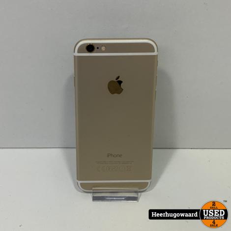 iPhone 6 16GB Gold in Nette Staat - Accu 100%