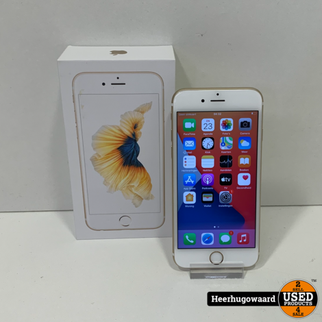 iPhone 6S 16GB Gold in Nette Staat - Accu 100%