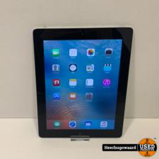iPad 3 16GB WiFi Space grey in Goede Staat