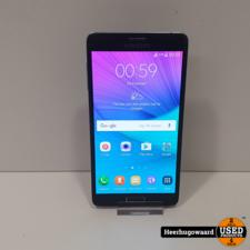 Samsung Galaxy Note 4 32GB Black in Nette Staat