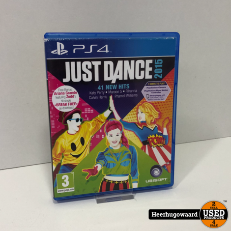 PS4 Game: Just Dance 2015