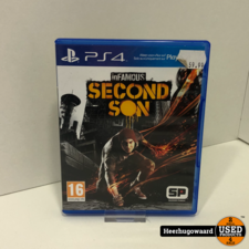 PS4 Game: inFamous Second Son