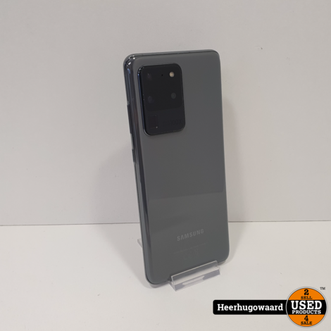 Samsung Galaxy S20 Ultra 5G 128GB Grey in Nieuwstaat