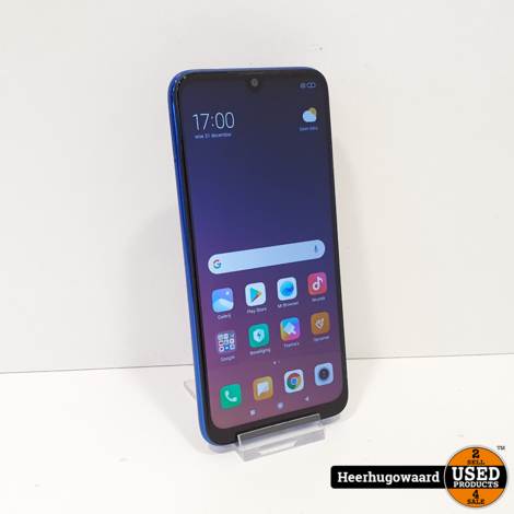 Xiaomi Redmi Note 7 64GB Blue in Nette Staat