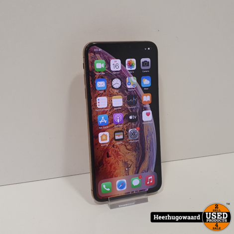iPhone XS Max 64GB Gold in Nette Staat - Accu 89%