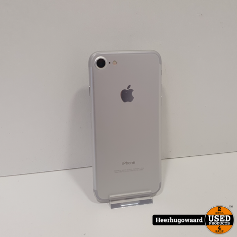 iPhone 7 32GB Silver in Nette Staat - Accu 88%