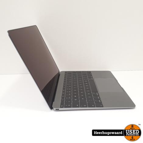 MacBook 12 inch 2017 - M3 1,2GHz 8GB 256GB SSD - ZGAN 6 Cycli