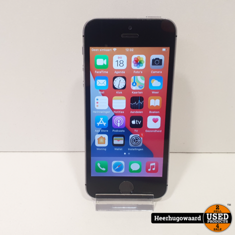 iPhone SE 64GB Space Grey in Goede Staat