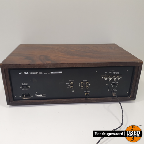 Luxman WL-500 Ultimate High Fidelity Solid-State AM-FM Tuner in Goede Staat