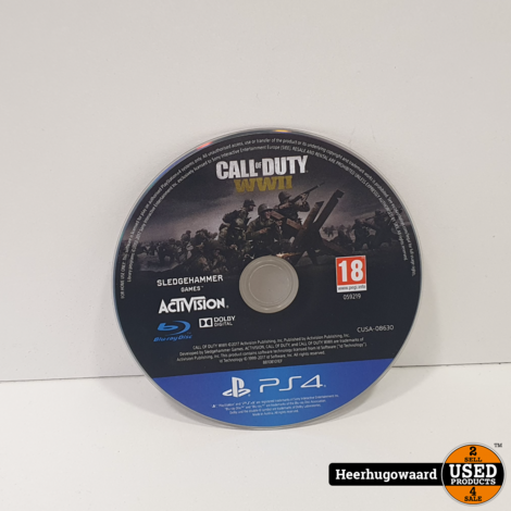PS4 Game: Call of Duty WW2