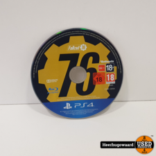 PS4 Game: Fallout 76 Losse Disc