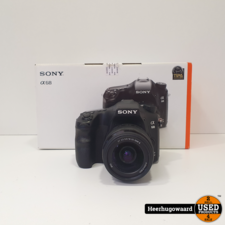 Sony Alpha SLT-A68 incl. 18-55mm Lens Compleet in Nette Staat
