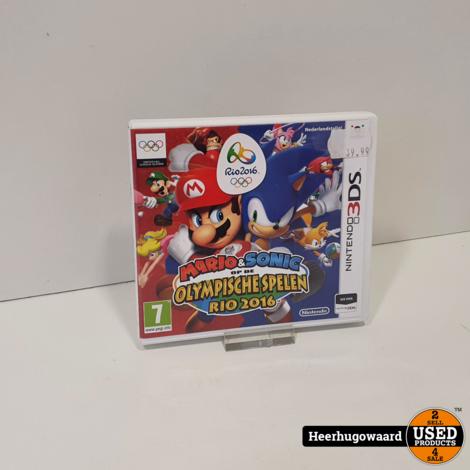 Nintendo 3DS Game: Mario & Sonic op de Olympische Spelen Rio 2016