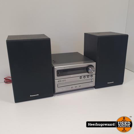 Panasonic SA-PM04 Hi-Fi Audio Set in Goede Staat