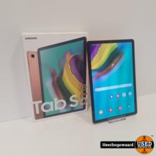 Samsung Galaxy Tab S5e 64GB WiFi Gold Compleet in Zeer Nette Staat