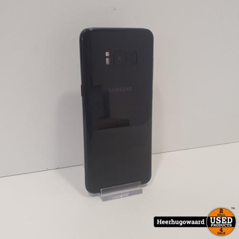 Samsung Galaxy S8 64GB Black in Zeer Nette Staat