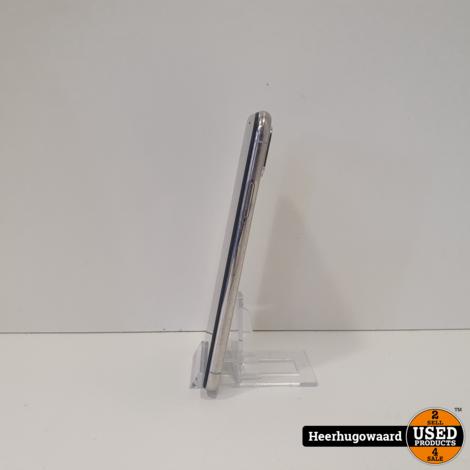 iPhone X 64GB Silver in Nette Staat - Accu 100%