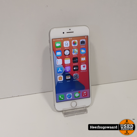 iPhone 8 64GB Silver in Nette Staat - Accu 88%