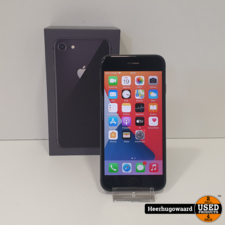 iPhone 8 64GB Space Gray in Nette Staat - Accu 96%