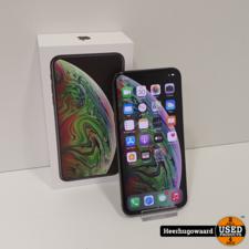 iPhone XS Max 64GB Space Grey in Zeer Nette Staat - Accu 88%