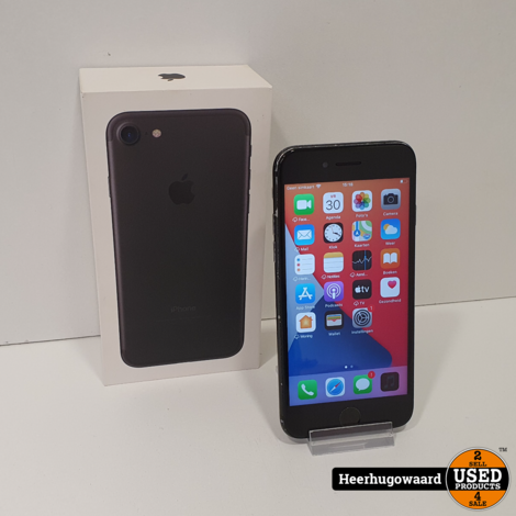 iPhone 7 32GB Black in Nette Staat - Accu 100%