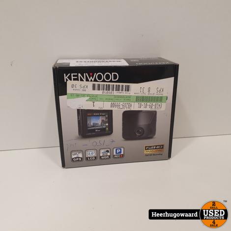 Kenwood Dashcam DRV 330 Full HD met GPS 2MP Nieuw in Doos