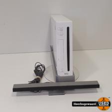 Nintendo Wii Wit Excl. Controller in Nette Staat