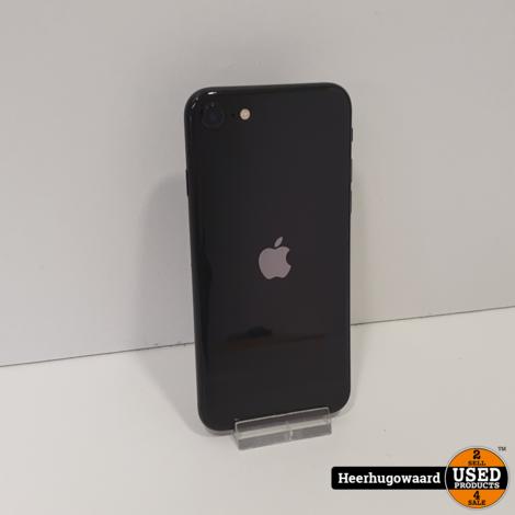 iPhone SE 2020 128GB Black in Zeer Nette Staat - Accu 96%