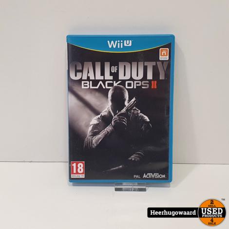 Wii U Game Call of Duty Black Ops II