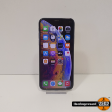 iPhone XS 64GB Silver in Nette Staat - Accu 86%