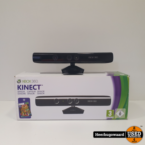 Xbox 360 Kinect Sensor Compleet in Doos in Goede Staat