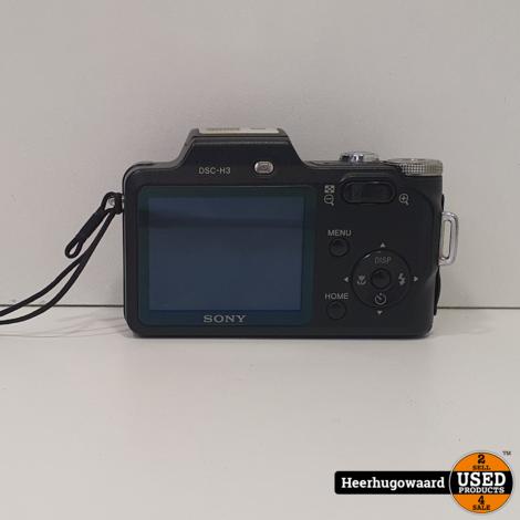 Sony DSC-H3 Digitale Camera 8.1 MP in Goede Staat