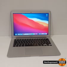 MacBook Air 13 Inch 2017 in Nette Staat - i5 1,8GHz 8GB 128GB SSD