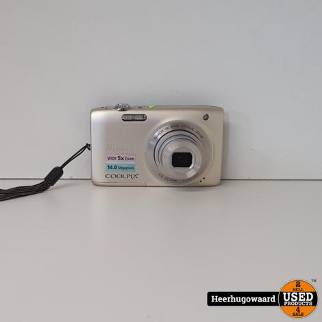 Nikon Coolpix S3100 Digitale Camera 14MP in Goede Staat