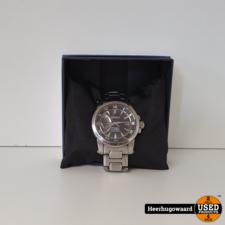 Seiko Premier Kinetic Direct Drive 5d22-0ad0 Horloge in Gebruikte Staat