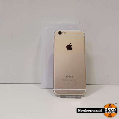 iPhone 6 64GB Gold in Nette Staat - Accu 90%