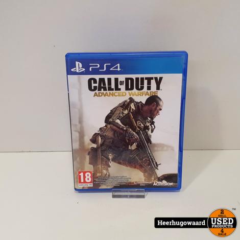 PS4 Game: Call of Duty Advanced Warfare