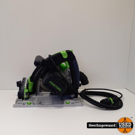 Festool TS 55 REBQ-Plus Invalcirkelzaag Nieuw in Systainer