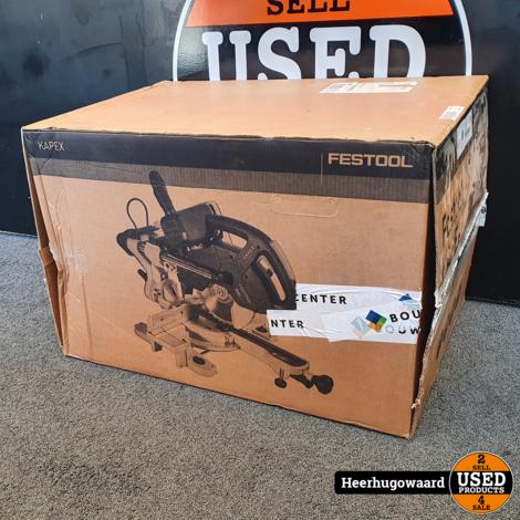 Festool Kapex KS 60 E-Set Afkort-Trekzaag Nieuw in Doos