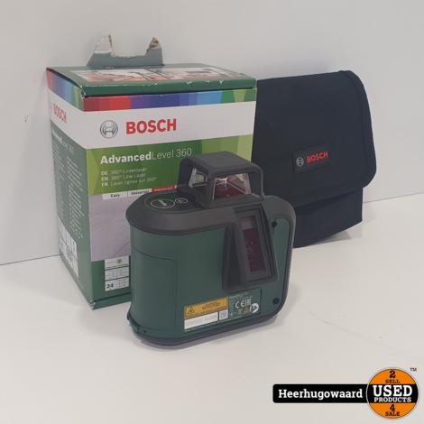 Bosch AdvancedLevel 360 Kruislijnlaser ZGAN in Doos