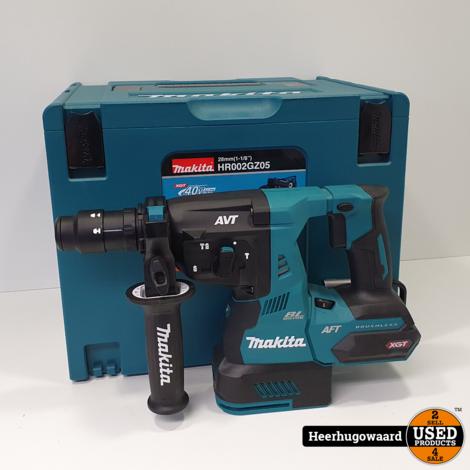 Makita HR002GZ05 40V SDS-Plus Combihamer met Afzuiging Nieuw in Mbox