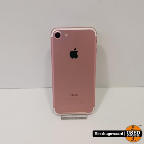 iPhone 7 128GB Rose Gold in Nette Staat - Accu 88%